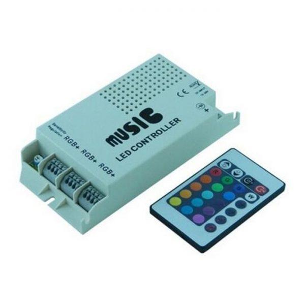 controller dimmer rgb music sound