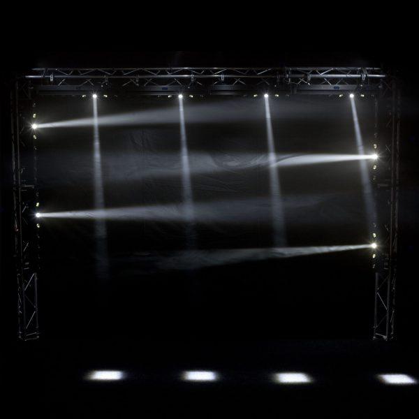 led move wall washer 8x10w rgb 4in1 dmx σχέδιο1