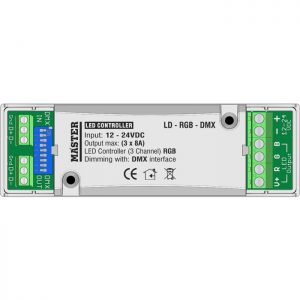 Led Controller LD-RGB-DMX -RGB-εσωτερικό