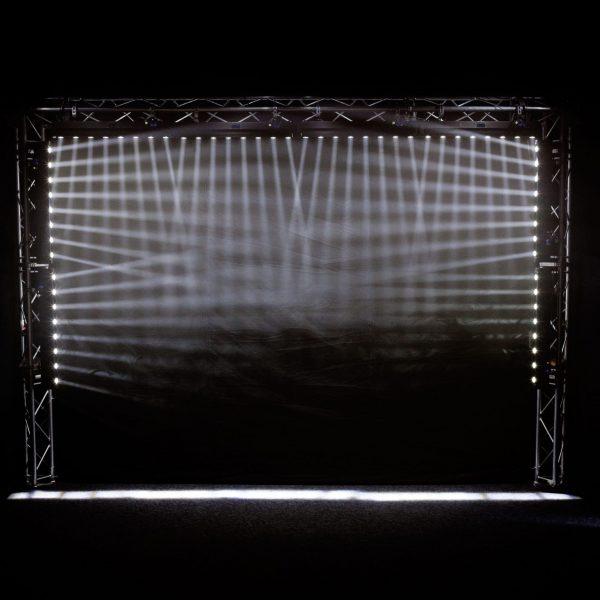 led move wall washer 8x10w rgb 4in1 dmx σχέδιο 2