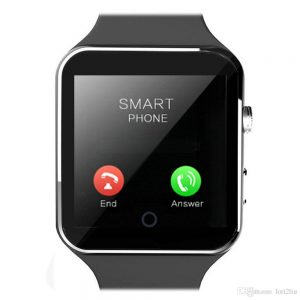 x6 smartwatch phone black - image 4