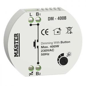 Dimmer κυτίου με τηλεχειρισμό button